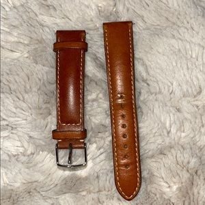 Michele watch leather band. 18mm